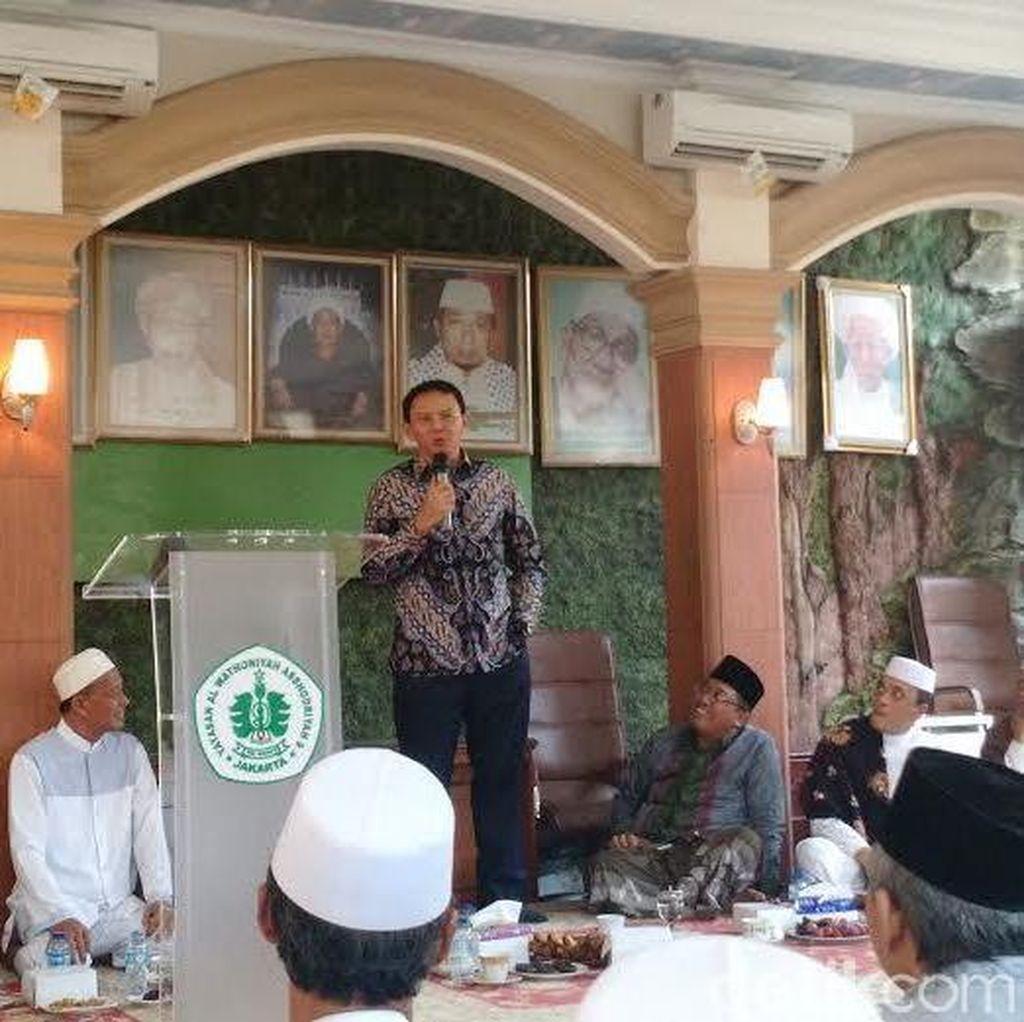 Malas Hadiri Acara di Masjid, Ahok: Rawan Dicap Kampanye