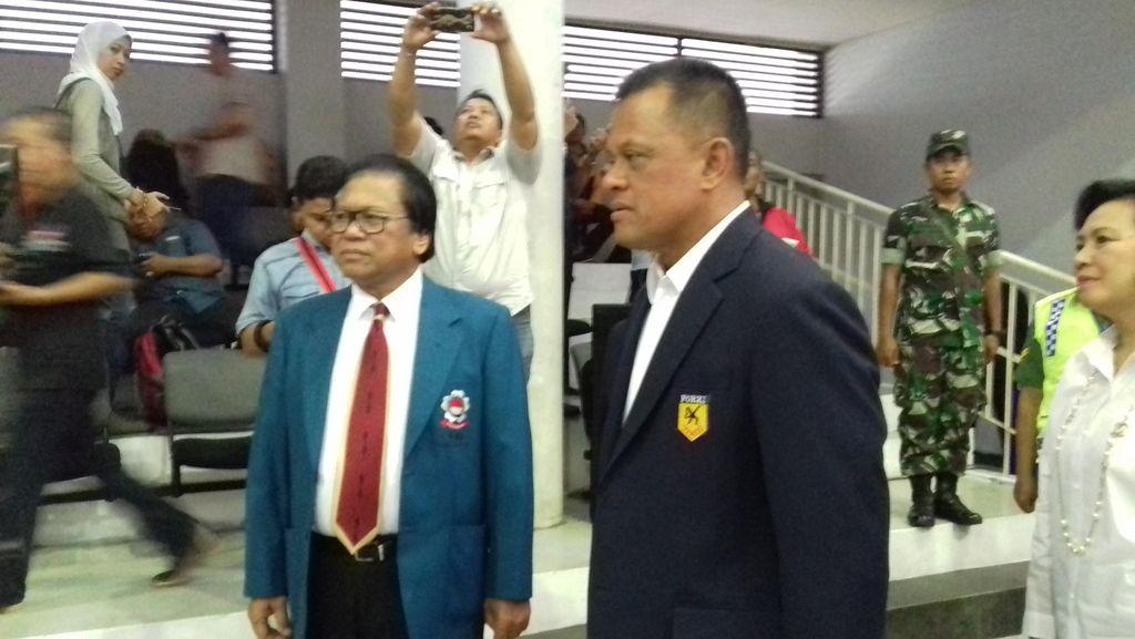 Panglima TNI dan Wakil Ketua MPR Hadiri Pembukaan Kejurnas Karate-Do