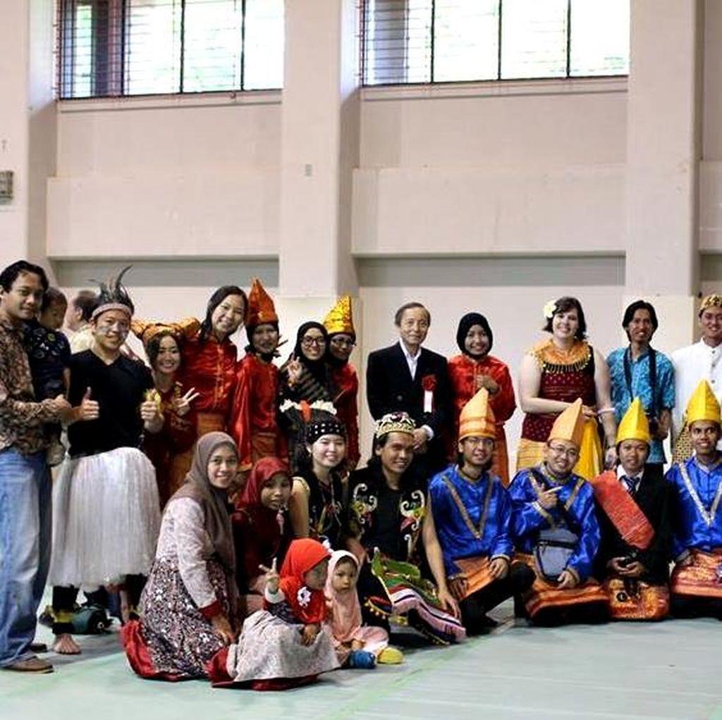 Tari Sajojo Hingga Bakwan Goreng Dipromosikan Mahasiswa Indonesia di Niigata
