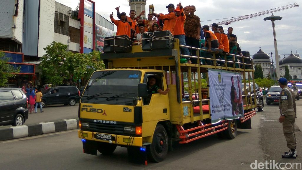 Kisah Perjuangan Pasukan Oranye di Balik Kesuksesan Banda Aceh Raih Adipura