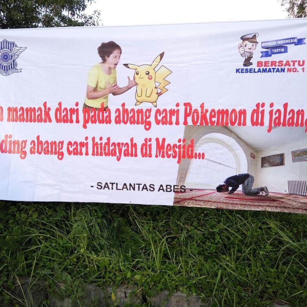 Imbauan <i>Nyeleneh</i> Polres Aceh Besar untuk Para Pemburu Pokemon