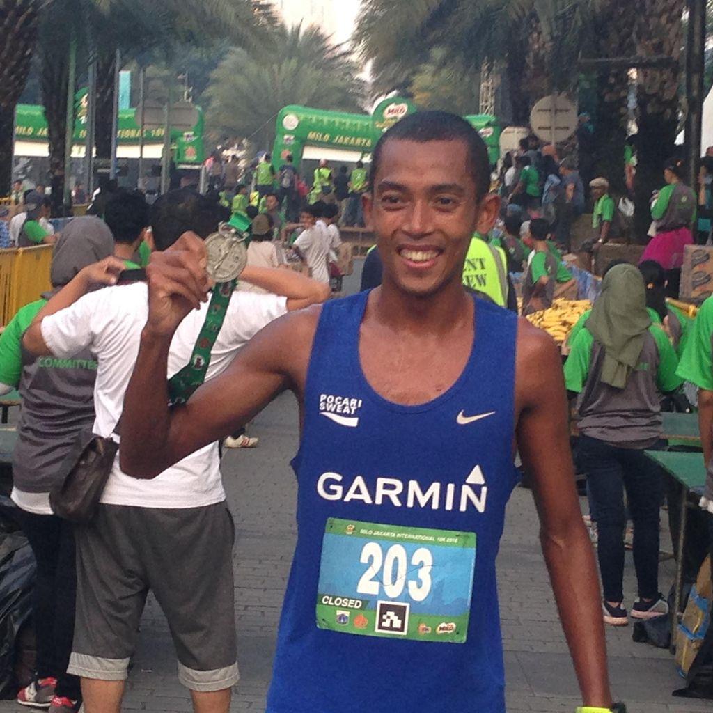 Usai Menangi Jakarta 10K, Agus Prayogo Bidik Tiga Emas di PON
