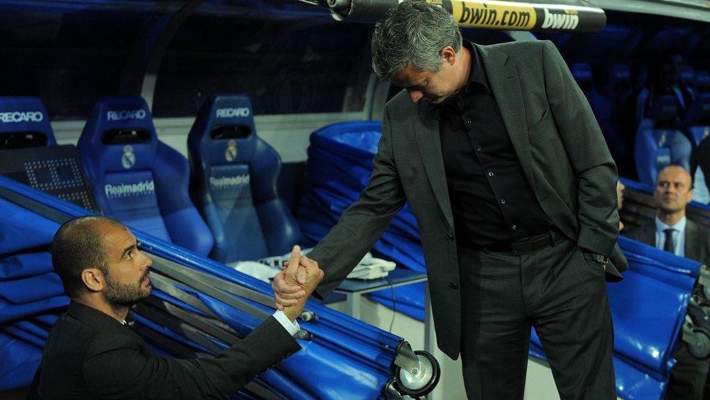 Guardiola: Bersalaman dengan Mourinho? Kenapa Tidak