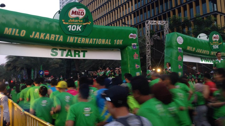 Wagub DKI Lepas 15 Ribu Peserta MILO Jakarta International 10K
