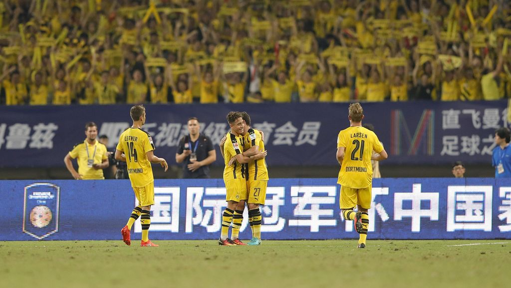 Aktivitas Belanja Dortmund Sudah Selesai
