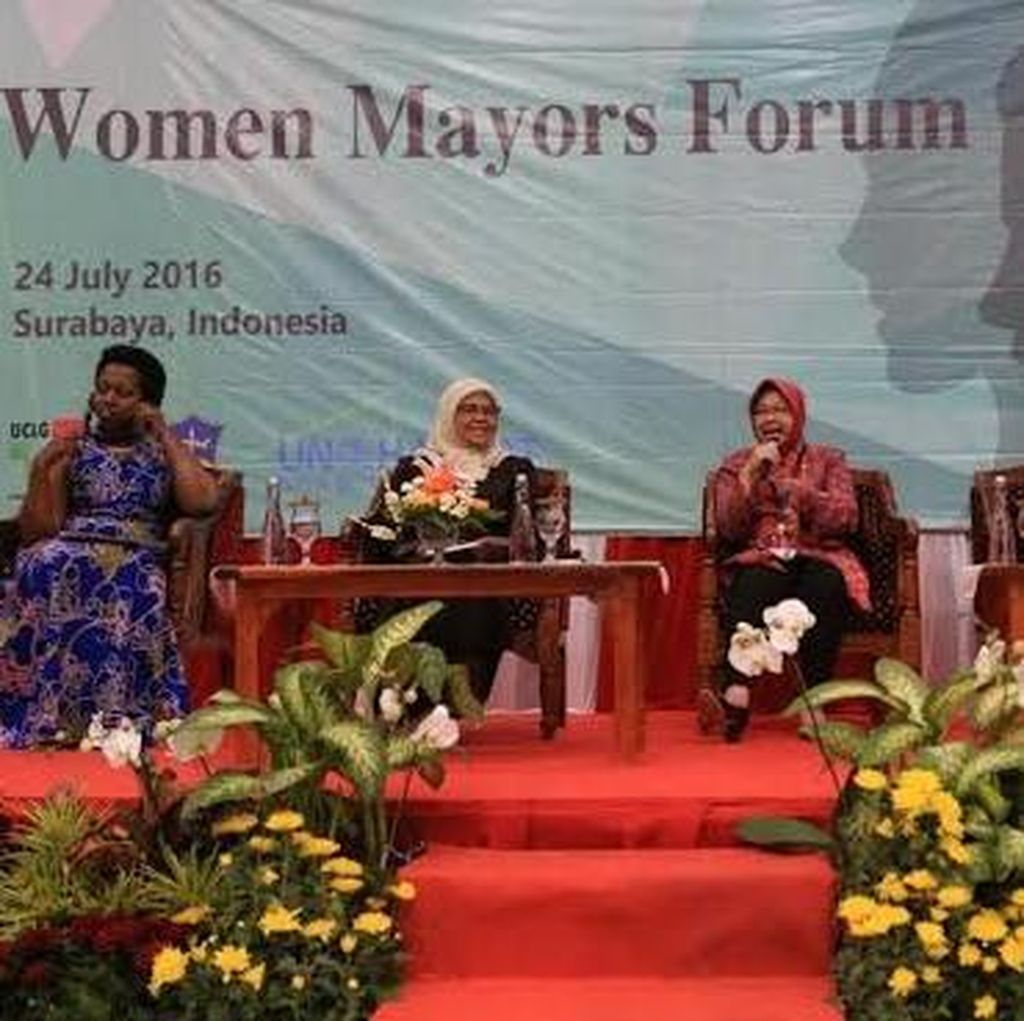 Risma Ingin Perempuan Berpolitik Tak Dibatasi Kuota