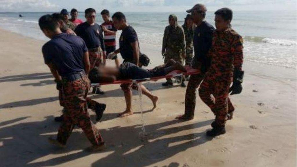 Korban Tewas Kapal Tenggelam di Johor Bahru Jadi 14 Orang