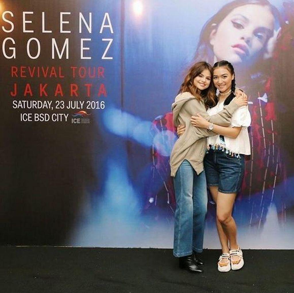 Cerita Bahagia Citra Kirana yang Akhirnya Bisa Foto Bareng Selena Gomez