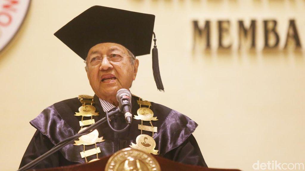 Orasi Ilmiah Mahathir Mohamad di Jakarta