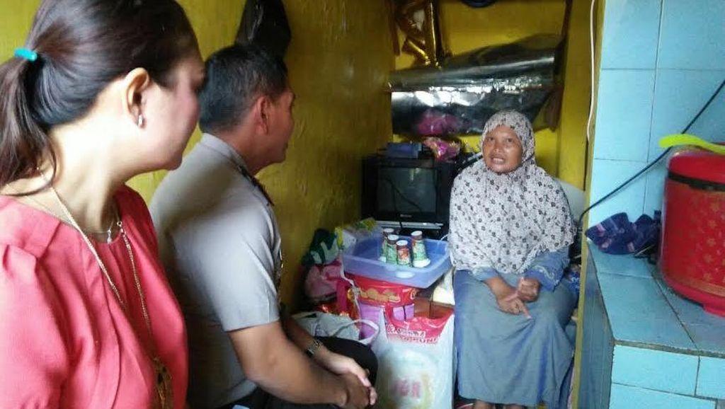 Kapolres Batu Turun Tangan Bantu Keluarga Srianah
