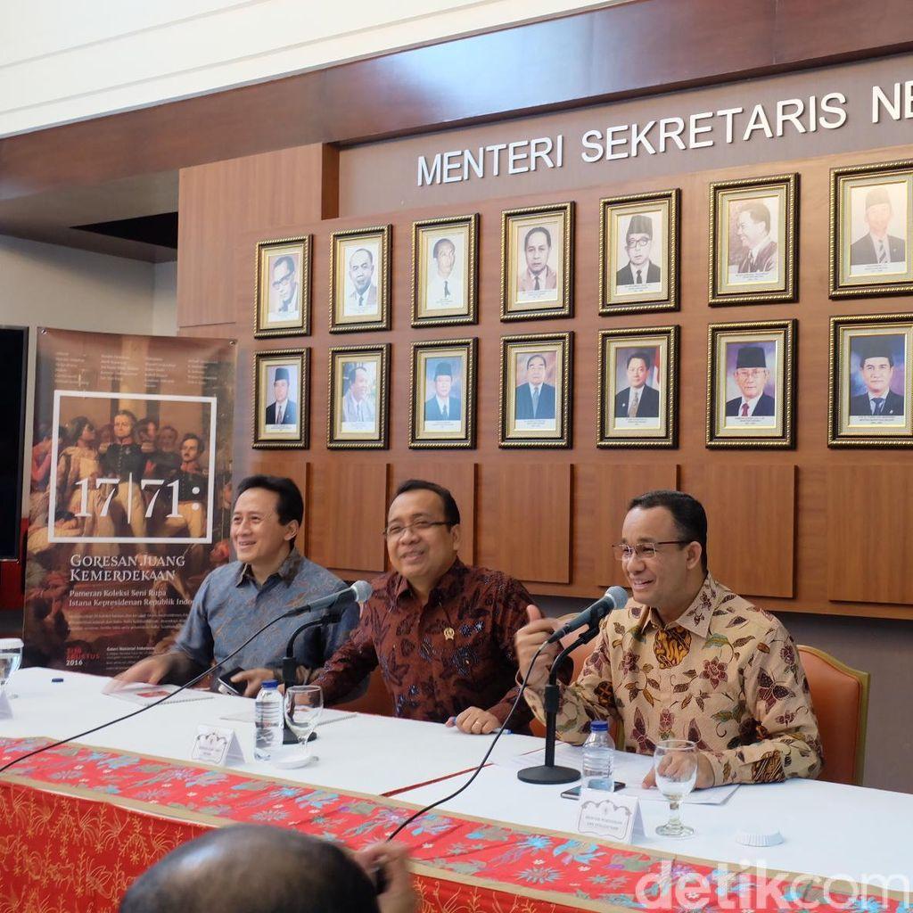 28 Lukisan Koleksi Istana Presiden Siap Dipamerkan