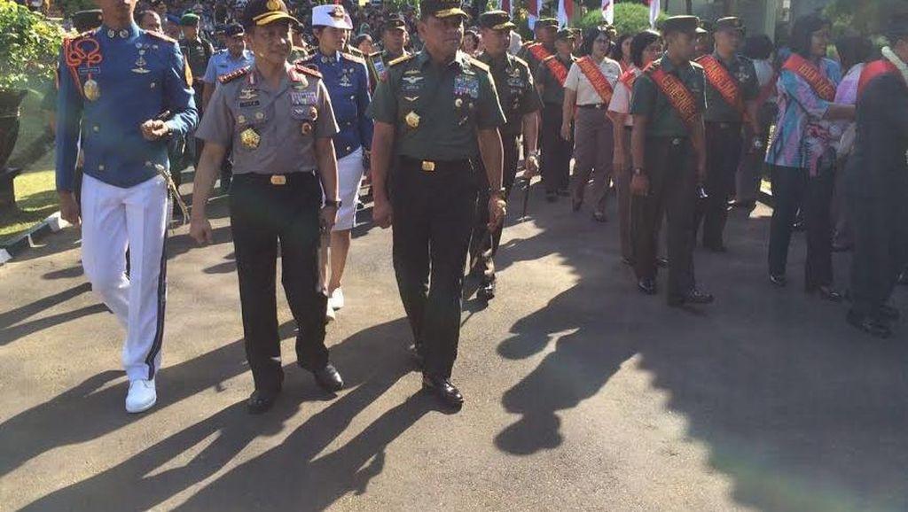 Kapolri dan Panglima TNI Kompak di Magelang, Cek Bareng Praspa TNI-Polri