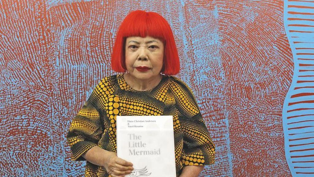 Buku Ilustrasi The Little Mermaid Digambar Yayoi Kusama