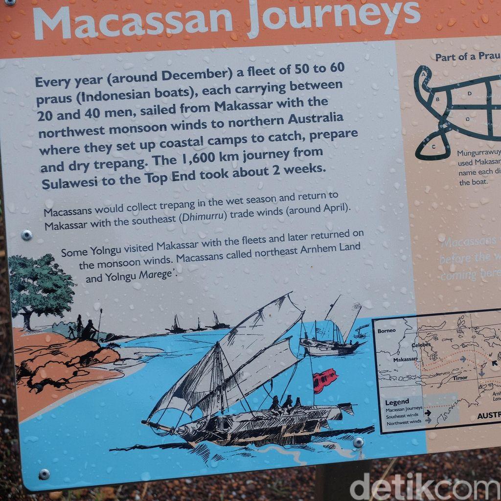 Menelisik Jejak Pelaut Makassar di Pantai Macassan NT Australia