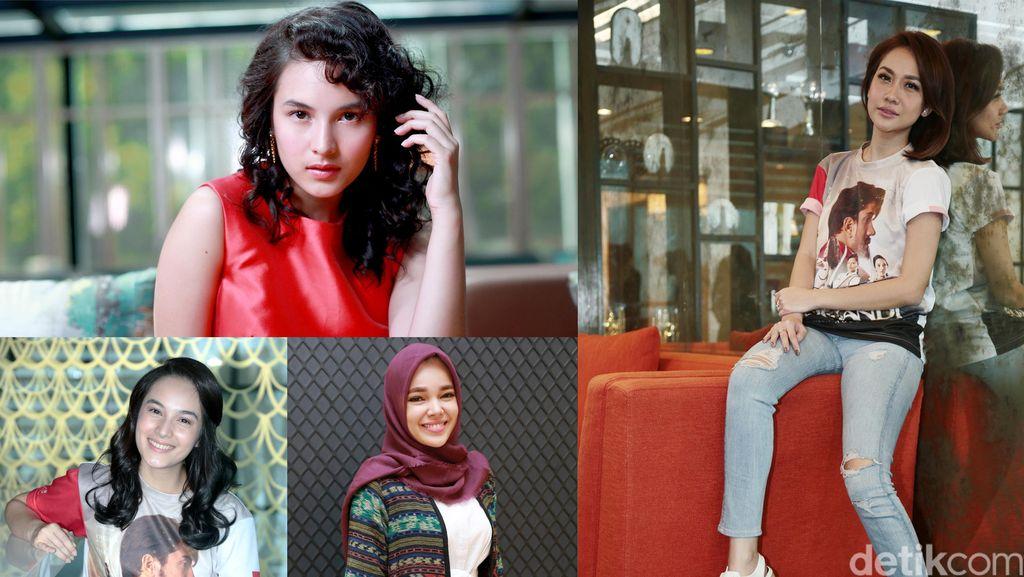 10 Foto Terpopuler: Chelsea Islan, Dewi Sandra hingga Bunga Citra Lestari