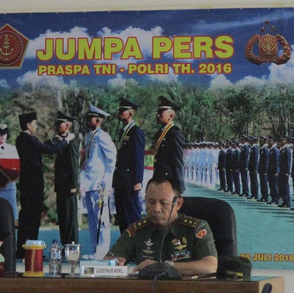 Presiden Jokowi akan Lantik 720 Perwira TNI/Polri di Akmil Magelang