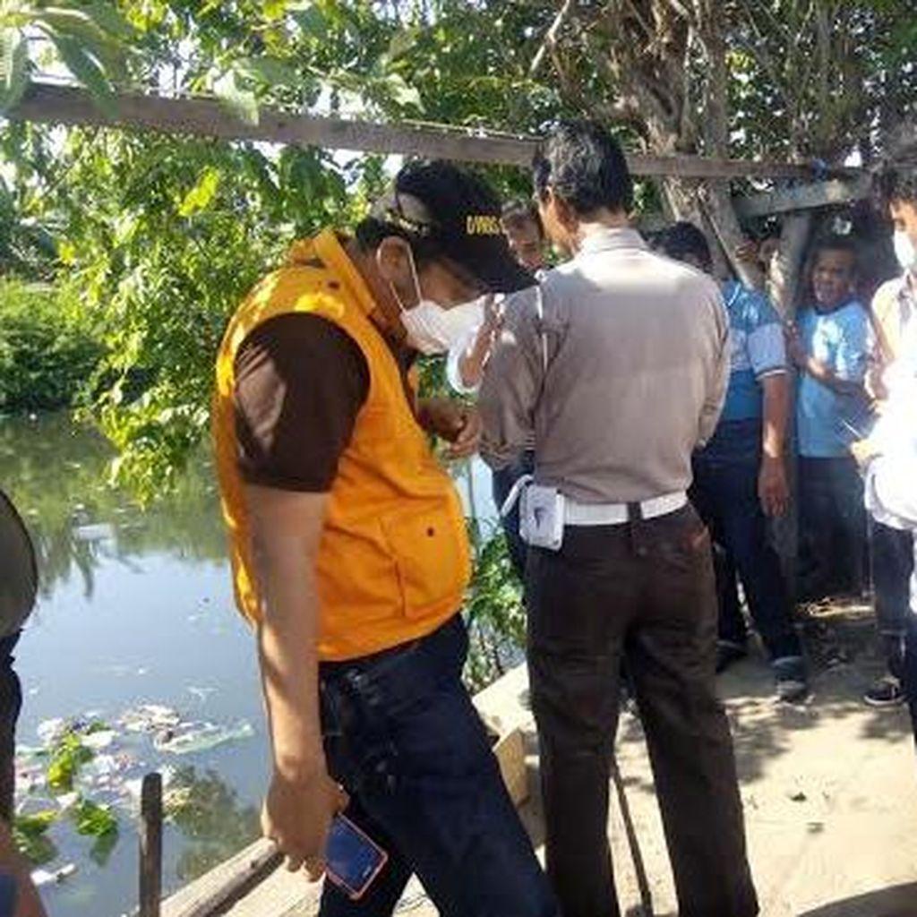 Sesosok Bayi Ditemukan Tewas di Sungai Kedung Cowek