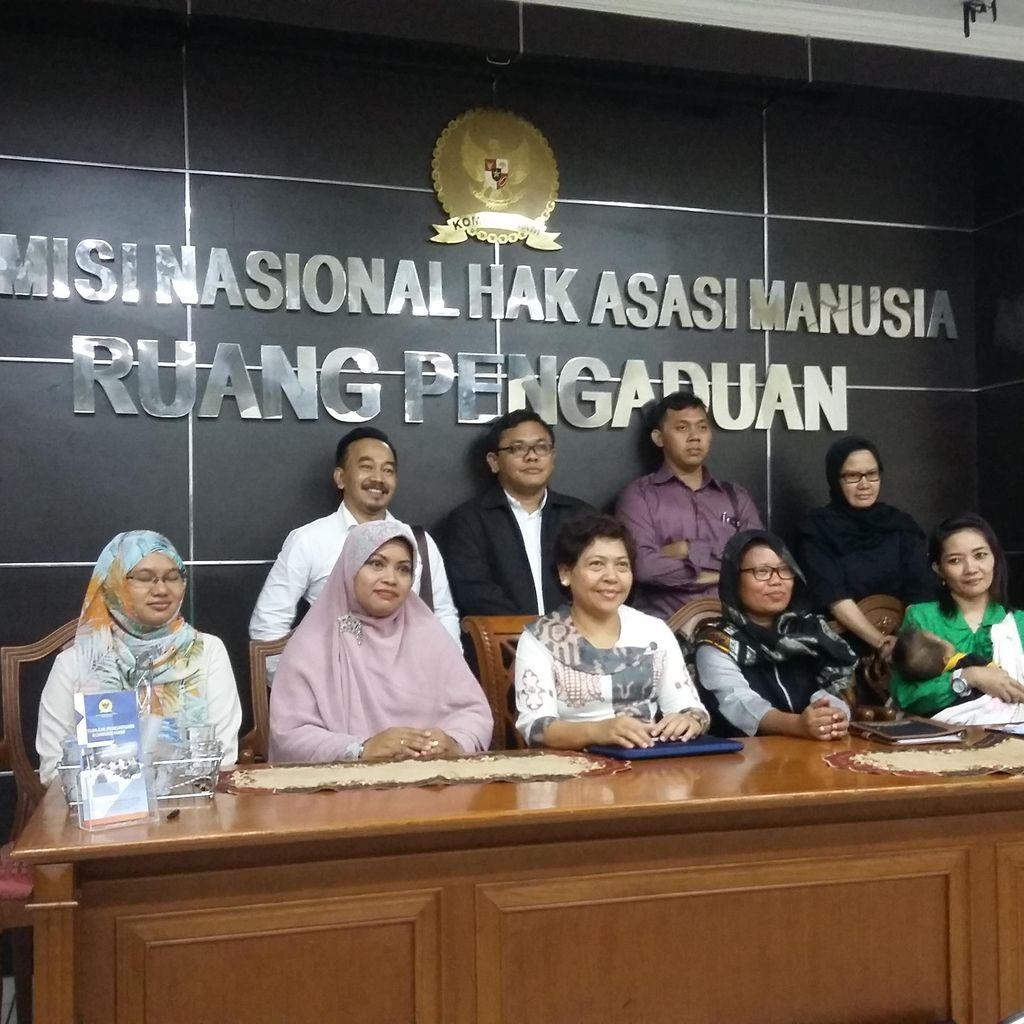 Ortu Korban Vaksin Palsu RS Harapan Bunda Mengadu ke Komnas HAM