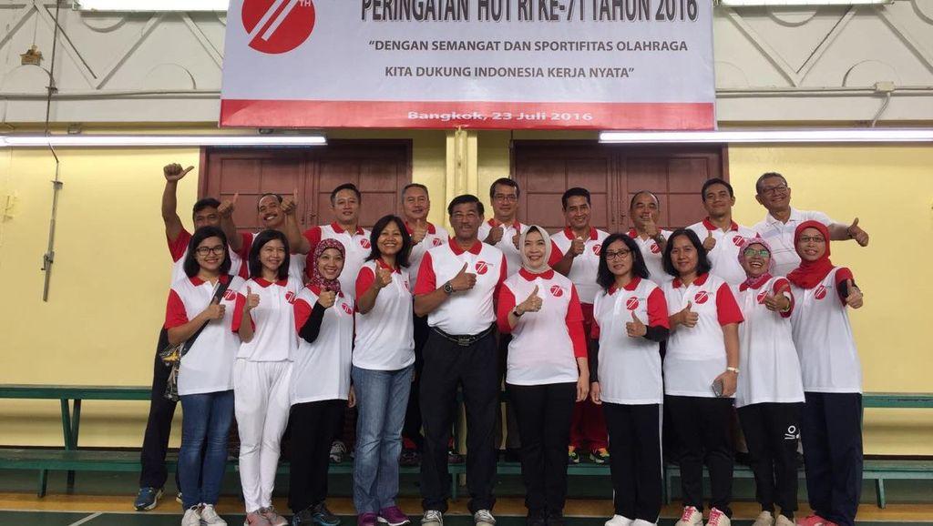 Ini Rangkaian Aktivitas KBRI di Bangkok Rayakan HUT RI ke-71