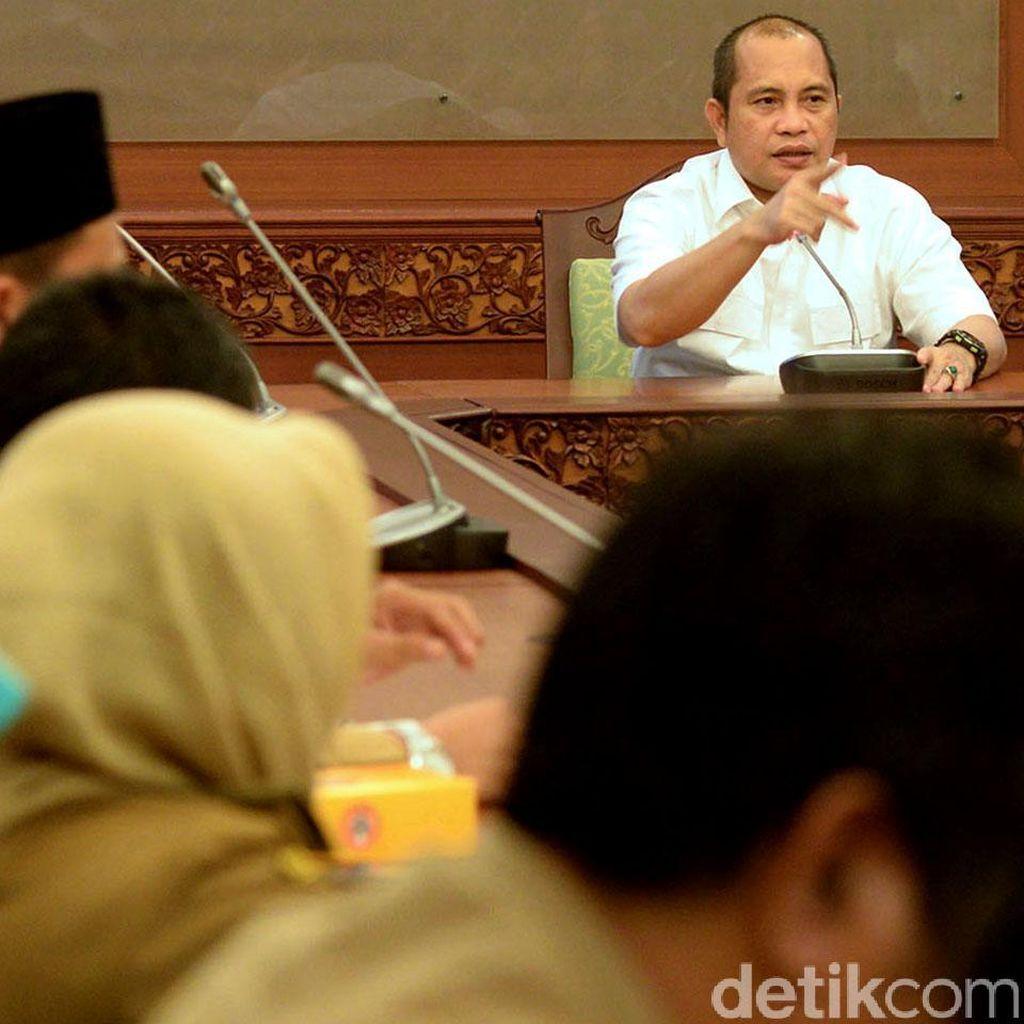 Mendes Terima Kades dari Bogor, Tangerang dan Bekasi