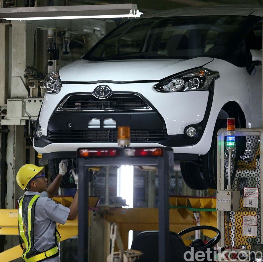 Toyota Targetkan Jual 3.500 Unit Sienta per Bulan