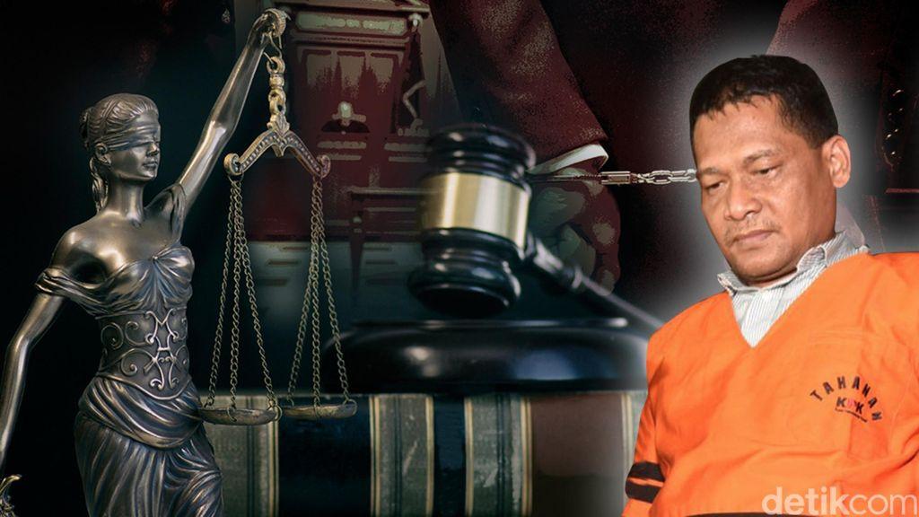 Panitera PN Jakut Rohadi Dijerat KPK Lagi dengan Pasal Gratifikasi