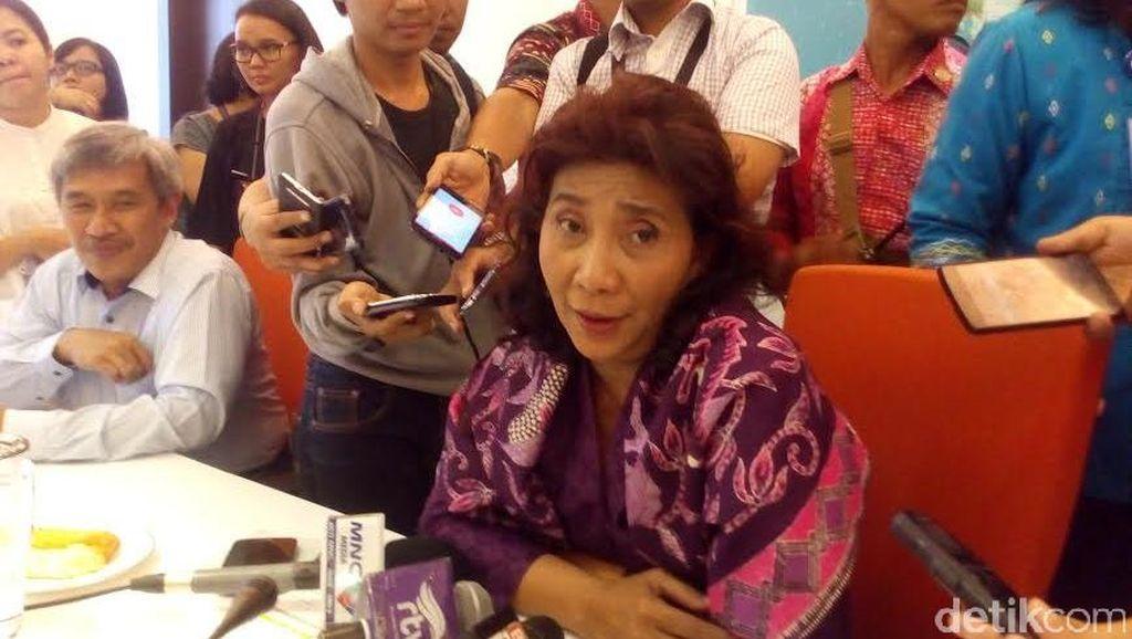 Menteri Susi Soal Reshuffle: Tak Terpakai ya Dipecat, Biasa Toh