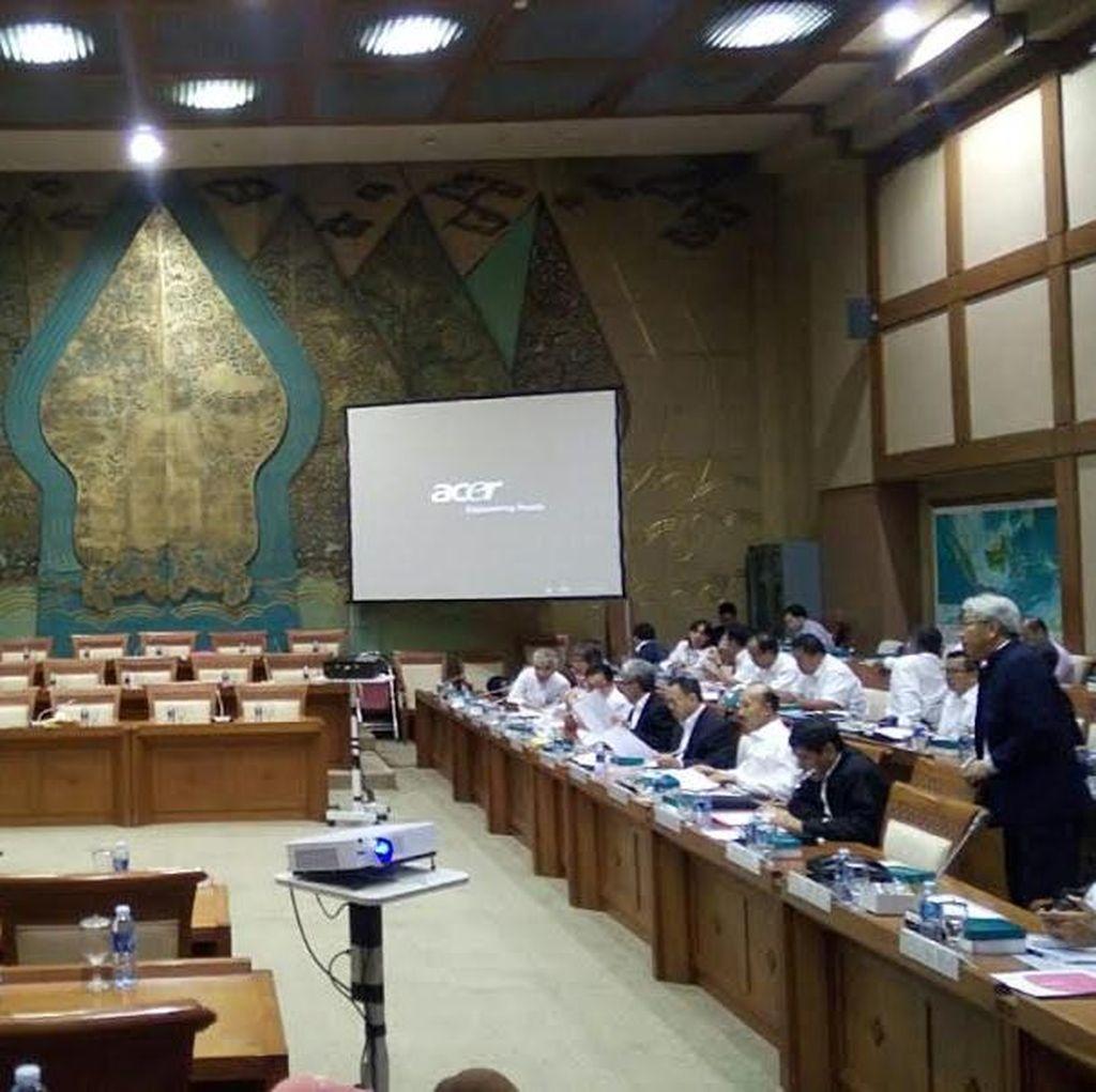Rapat Dengan Menteri ESDM, Anggota DPR yang Hadir Sepi