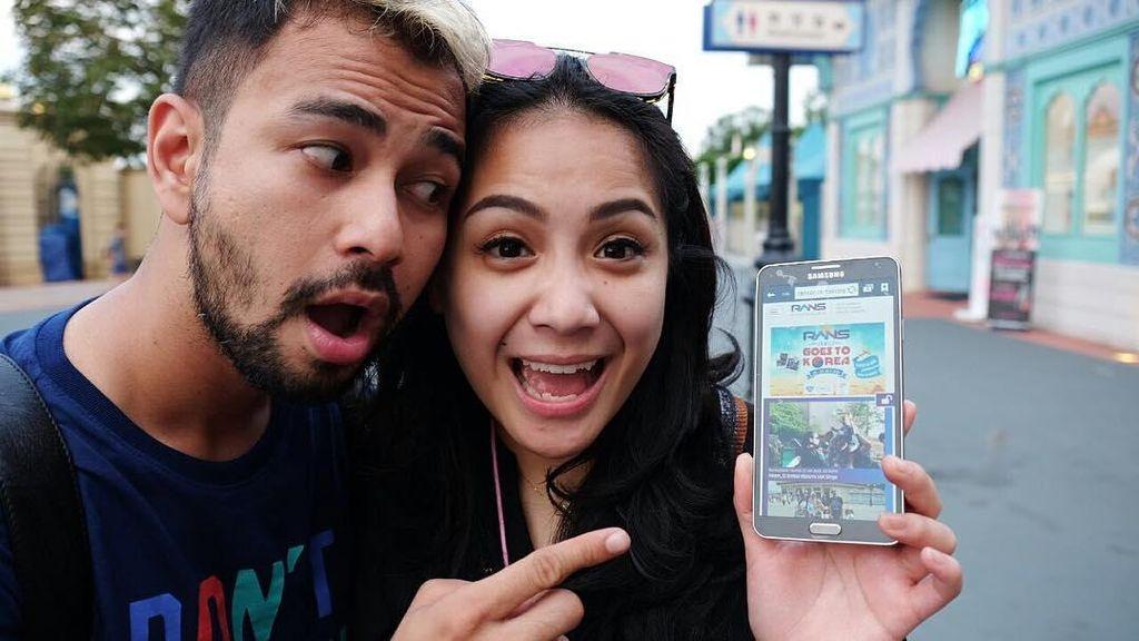 Amy Qanita Pertama Kali Tahu Foto Tiket Liburan Raffi-Ayu dari Nagita