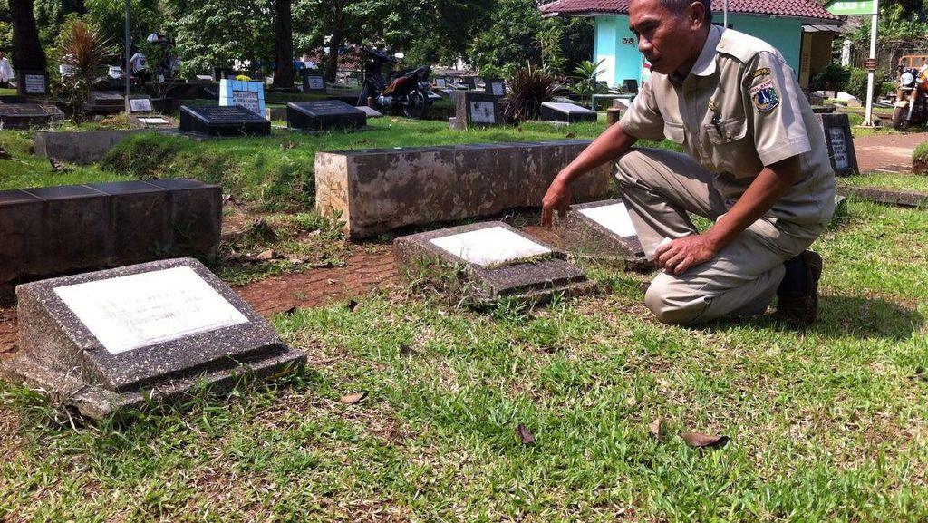 10 Makam Fiktif Ditemukan di TPU Jeruk Purut, Banyak Warga Pesan ke Calo