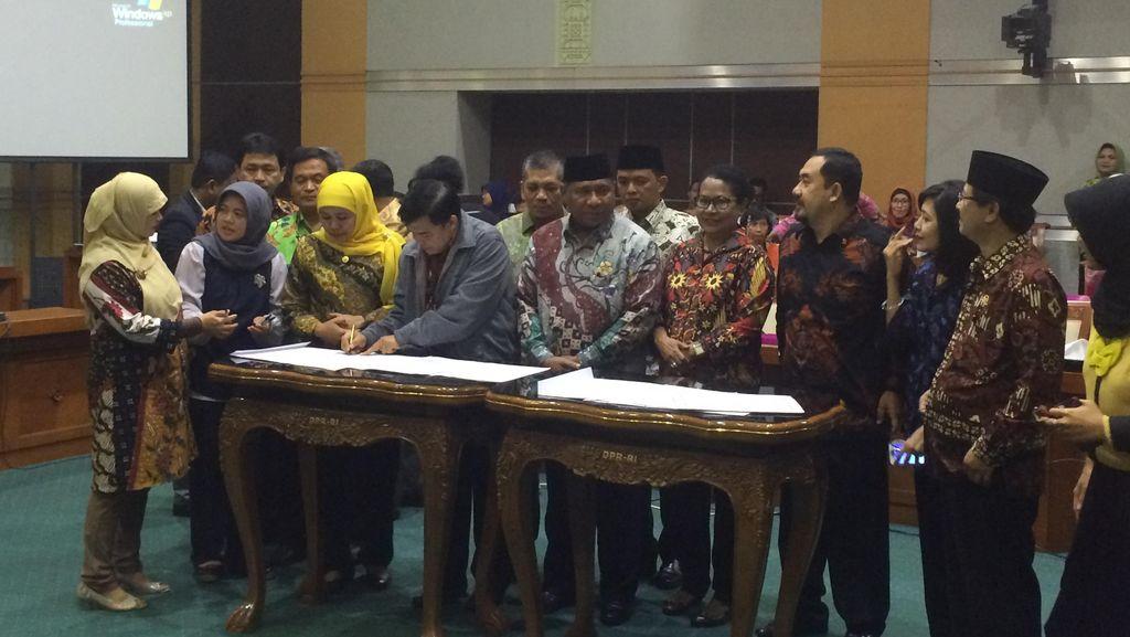 Persetujuan Perppu Kebiri Jadi UU Segera Dibawa ke Paripurna DPR