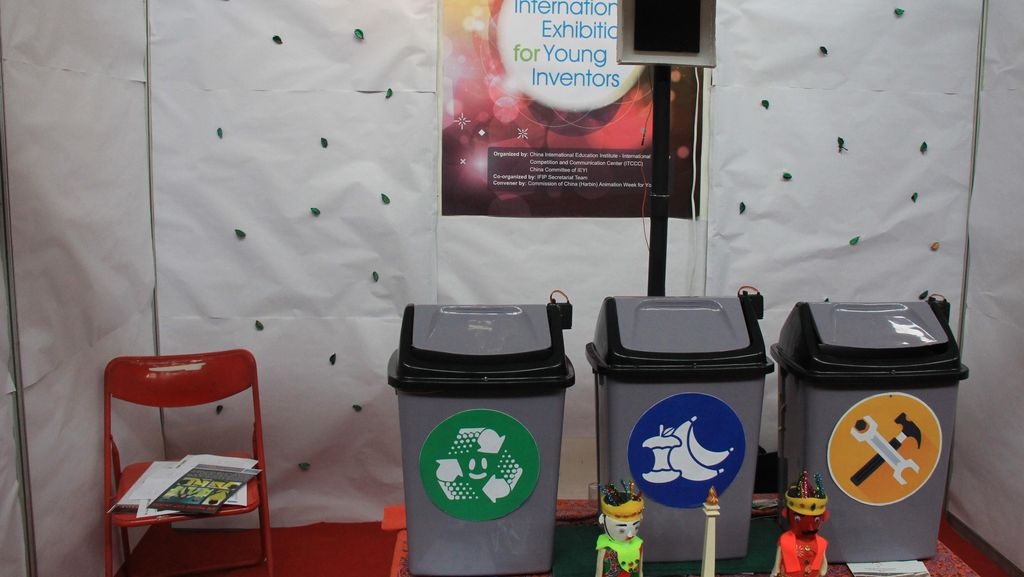 Tempat Sampah Pintar Temuan Ryan Akan Dipatenkan