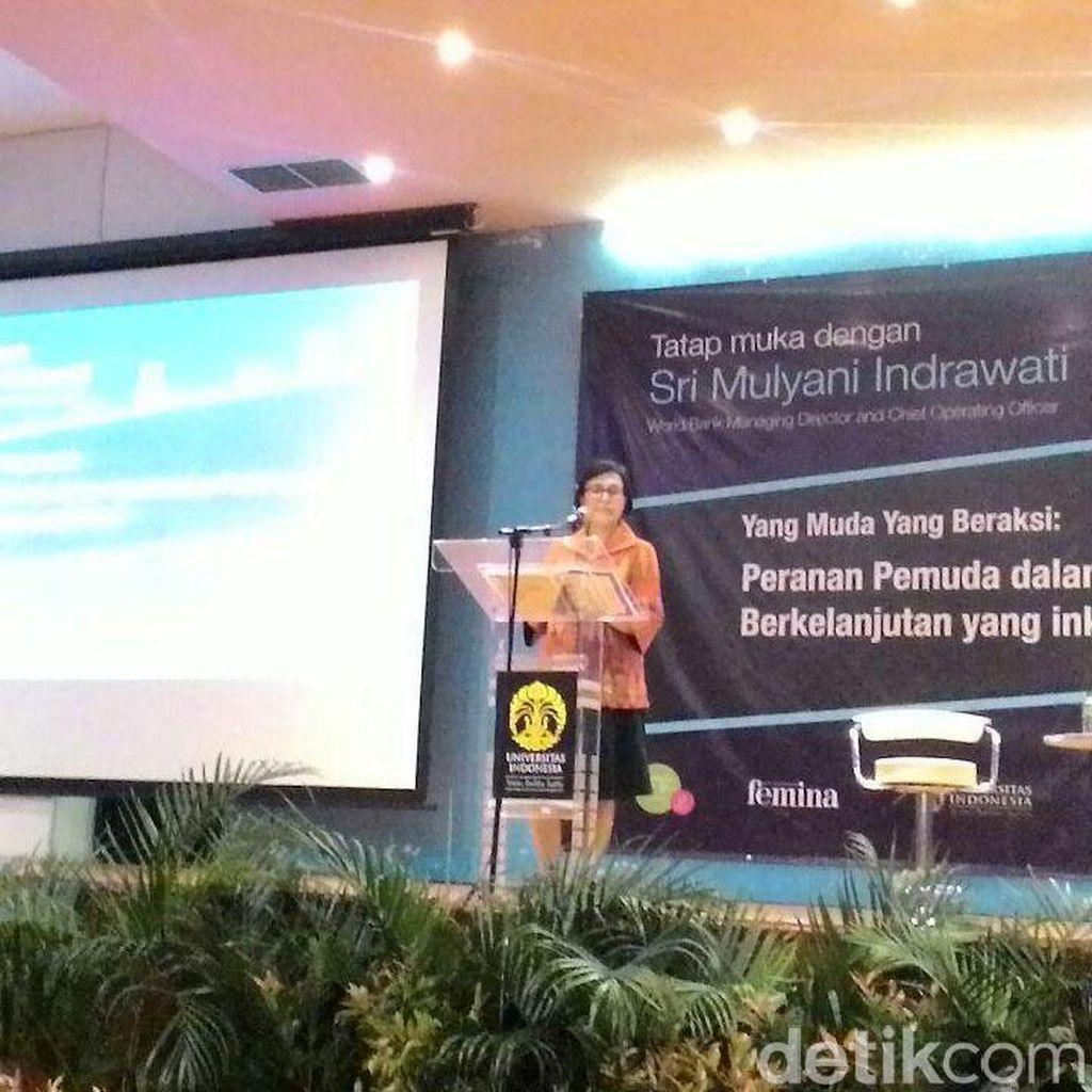 Sri Mulyani: Sekarang Informasi Terbuka, Tapi Wawasan Masyarakat Menyempit