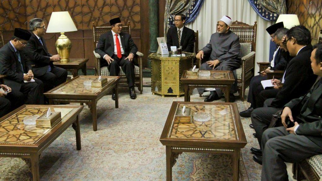 Menag Usul Pemindahan Program Pendalaman Bahasa Arab Al-Azhar ke Indonesia