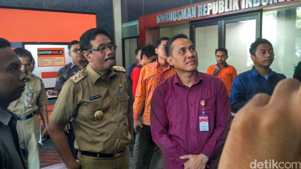 Wagub Djarot Datangi Ombudsman Terkait Temuan Masalah Pelayanan Jakarta