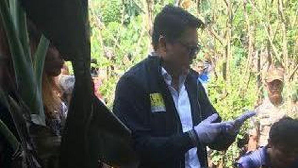 Kombes Krishna Murti Cek TKP Mayat Terbungkus Sarung yang Dibakar di Serpong