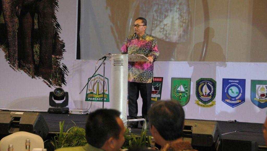 Ketua MPR Dorong Konsolidasi Pembangunan Sumatera