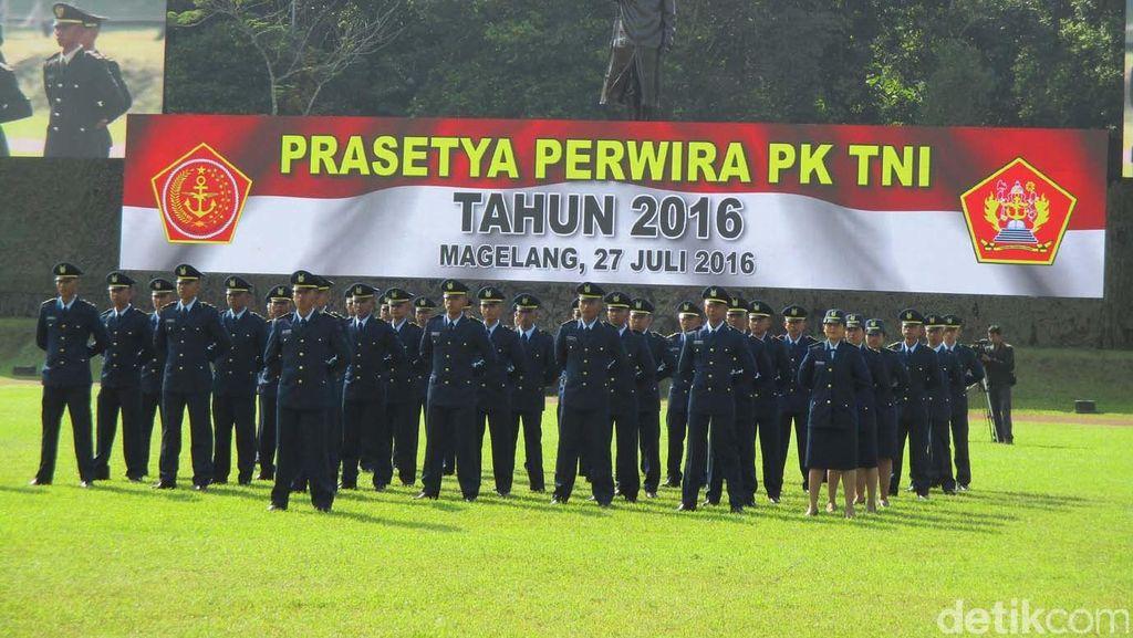 Panglima TNI Lantik 171 Perwira Prajurit Karier: Laksanakan Tugas dengan Ikhlas