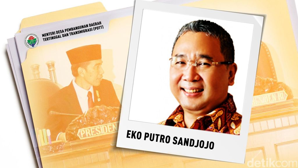 Eko Putro Dikabarkan Gantikan Menteri Desa Marwan Jafar