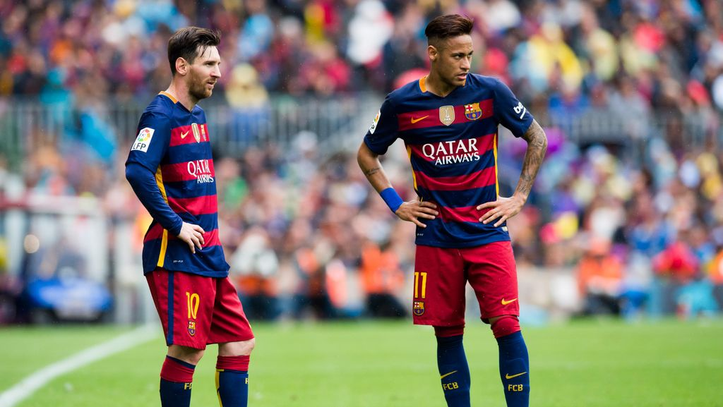 Messi Masih di Atas Neymar