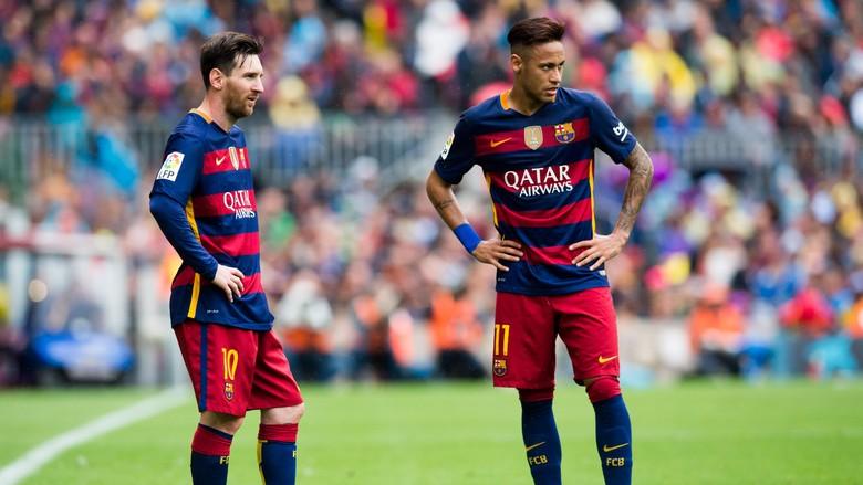 Neymar Yang Masih Di Bawah Messi