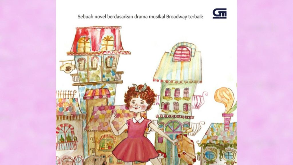 Sampul Novel Annie Versi Bahasa Indonesia Lebih Artsy