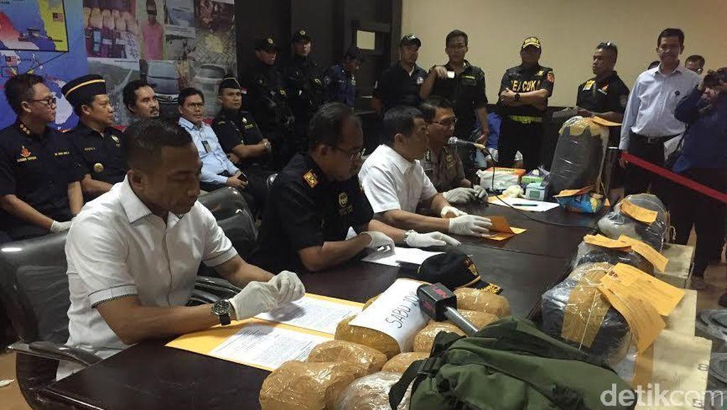 Dirjen Bea Cukai: Narkotika yang Masuk ke Indonesia Meningkat Tinggi
