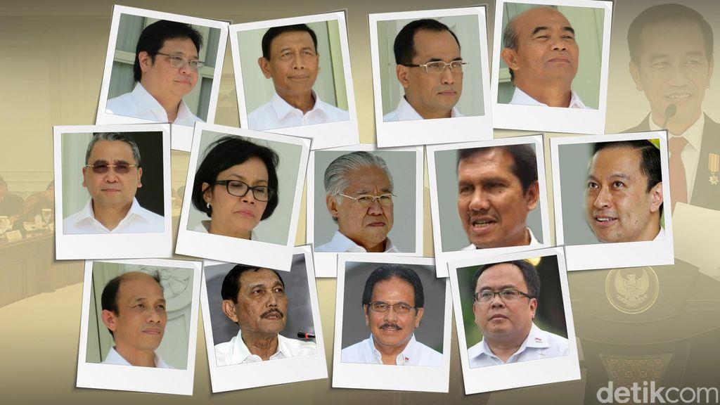 Hasil Reshuffle Jilid 2 Kabinet Kerja Dalam Gambar