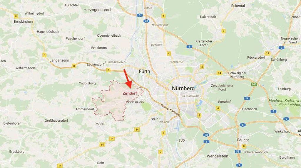 Polisi Jerman: Tak Ada Ledakan di Zirndorf, Hanya Api dan Tak Berbahaya