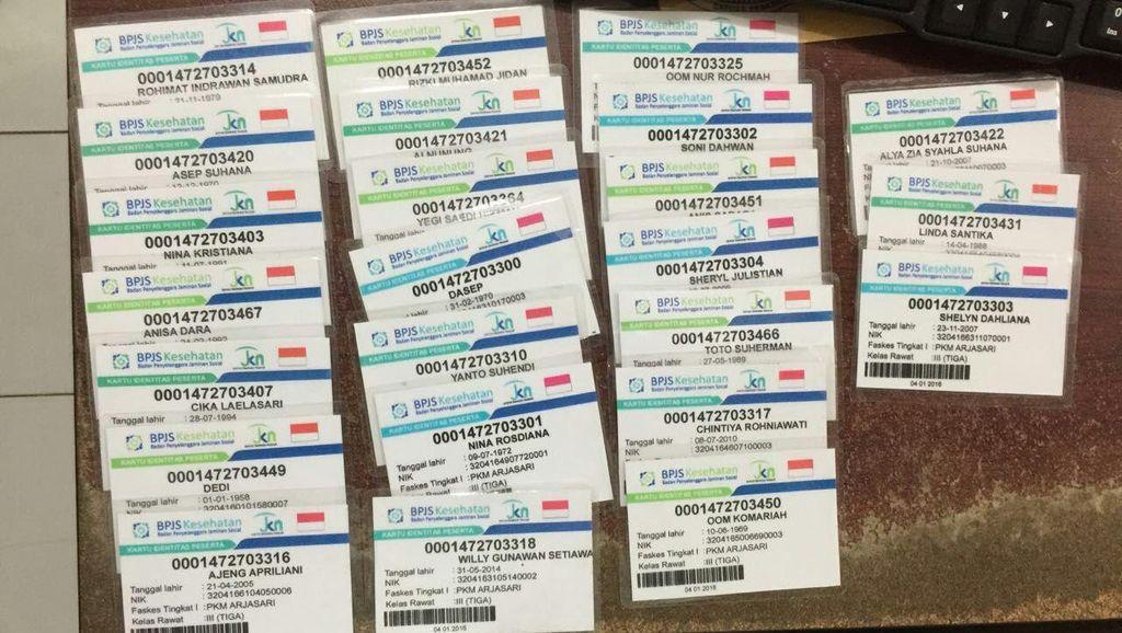 Polres Bandung Tahan Satu Pelaku Pemalsuan Kartu BPJS