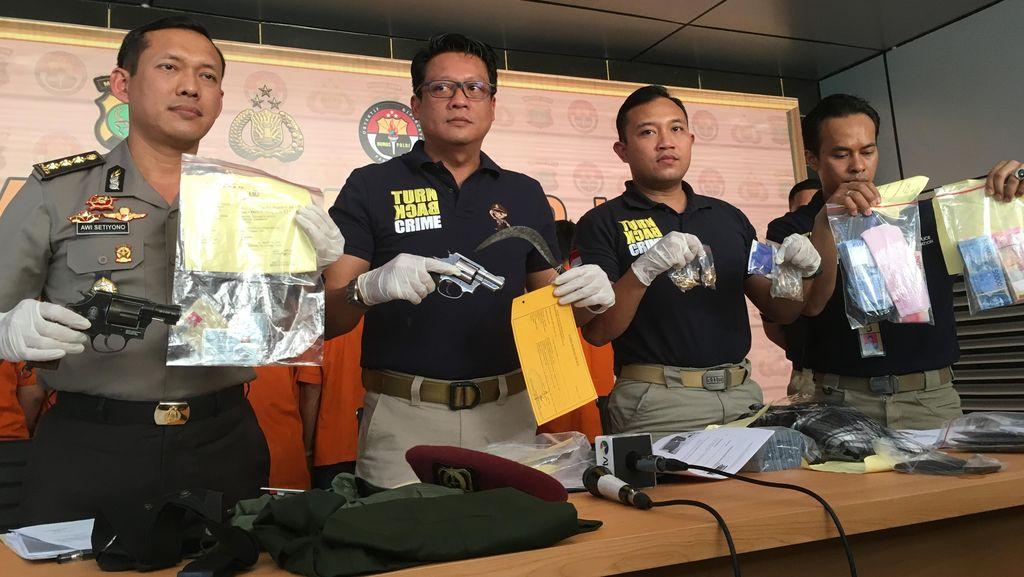 Komplotan Perampok Emas 5 Kg di Manggarai Dibekuk Polisi