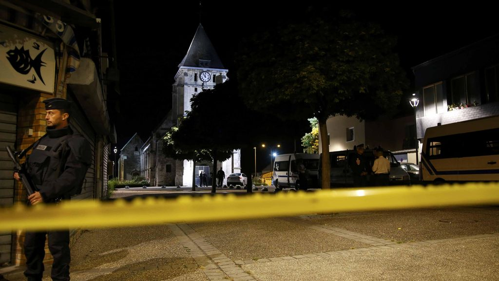 Satu Lagi Pelaku Teror di Gereja Prancis Diidentifikasi sebagai Abdul-Malik