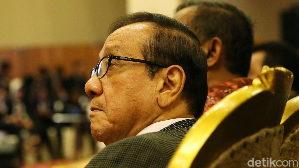Golkar Dapat Kursi Menteri, Akbar Tandjung Bersyukur