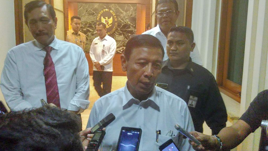 Menko Polhukam Wiranto Janji Segera Benahi Sektor Hukum